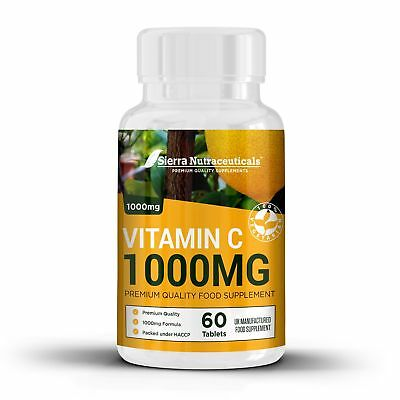 High Quality Vitamin C 1000MG. Immune & Healthy Ageing Support  Antioxidant S...