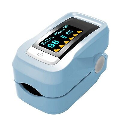 YZCX Finger Pulse Oximeter With OLED Display Instant Read Digital Fingertip B...