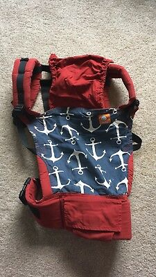 Tula Ergonomic Front and Back Baby Carrier, excellent condition