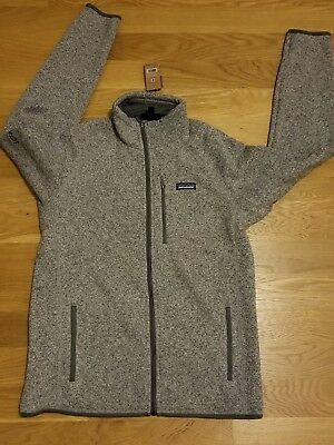 NWT Patagonia Men's Better Sweater in Stonewash Gray Sz L Brand New Orig $139
