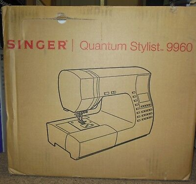 Singer 9960 Quantum Stylist Electronic Sewing Machine