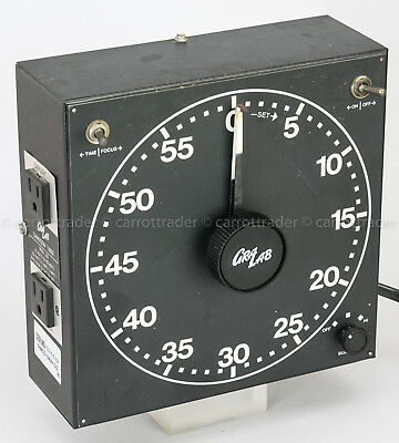 GraLab 300 Photography Electric Darkroom Timer Safelight Enlarger Plug In