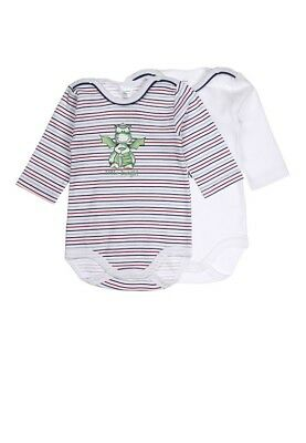 Baby Body Suit Pack of 2 Long Sleeved for Boys sz. 50 68 80 Von Kanz