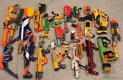 Huge nerf lot with guns and accessories!