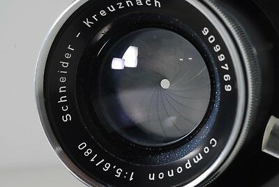 Schneider Kreuznach Componon 180mm f5.6 Enlarging Lens *READ*
