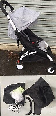 Compact Lightweight Stroller Pram Travel Carry Yoyo + FOOTREST & FOOTCOVER