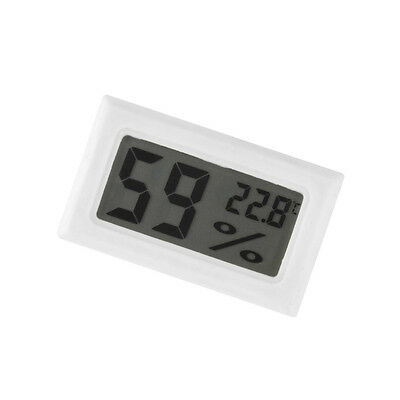 Mini Digital LCD Indoor Temperature Humidity Meter Thermometer Hygrometer CA NEW