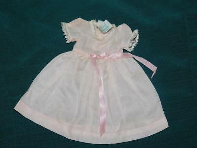 Madame Alexander Kins Pink Doll Dress Tagged 1950's In Nice Condition