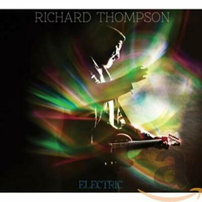 Richard Thompson - Electric - Richard Thompson CD O2VG The Cheap Fast Free Post