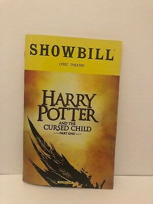Harry Potter and the Cursed Child OBC Bundle Part 1 PLAYBILL