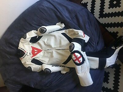 "Dainese 1 piece race suit for tall person 6'6""+"