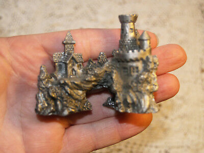Pewter figurine Castle