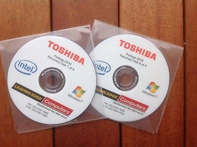Toshiba Portege Z930 Recovery Disk Set - Windows 7