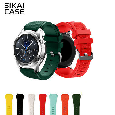 New 22mm Replacement Silicone Strap For Amazfit Stratos 2 / Pace Samsung Gear S3