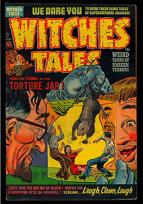 Witches Tales #13 Golden Age Pre-Code Harvey File Copy Horror Comic 1952 VG