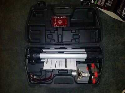Pittsburgh Motorized Rotary Laser Level Kit - Used Just Once