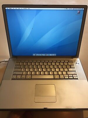 "Apple PowerBook G4 15"" Display Old Software-Needs Update New Battery"