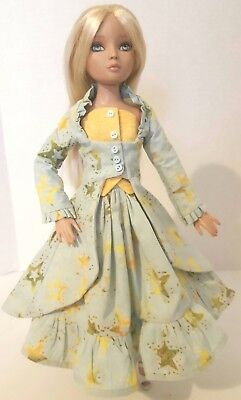 """stars In Springtime""  Ooak Outfit For Tonner Ellowyne Or Similar Size Dolls"