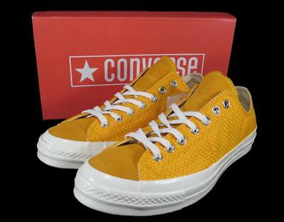 b2925291025a Converse 1970s 70 Chuck Taylor All Star Ox Oxford Lo Top Woven GOLD 155452C