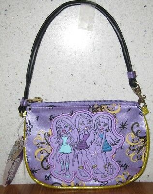 Bratz Wristlet Purse/small Bag Purple ** Brand New **