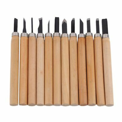 12PCS/Set Wood Carving Cutter Set Woodcraft DIY Tools Hand for Woodworking