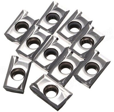 10pcs APKT1604PDFR-MA3 H01 Carbide Inserts Used For Aluminum Copper New