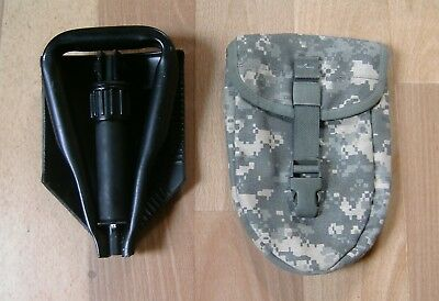 US Army Entrenching Tool w,Carrier E-Tool