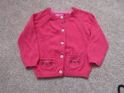 Baby Girls JOULES Pink Cardigan 9-12 Months