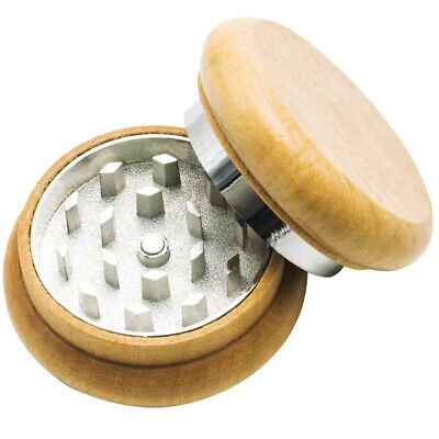2 Inch Diamond Cut Wood Herb Grinder | Brand New | Never Been Used