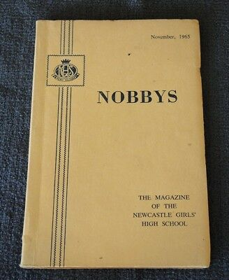1965 Nobbys Magazine Of Newcastle Girls High School