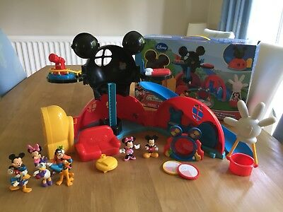 Mickey Mouse Clubhouse - Great Condition c/w Box & Extra - Fisher Price RARE