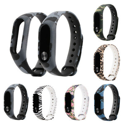 Soft Silicone Strap Wrist Band Replacement for Xiaomi Mi Band 2 1S Bracelet