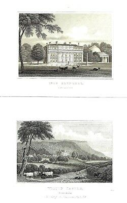 6 x Stately Homes of Gt Britain (Ince Bluebell etc) After John P. Neale - c1830