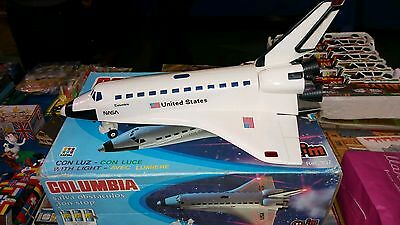 Columbia Space Shuttle.clim Spain.rare Vintage Space Toy! Original Box.