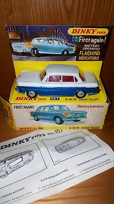 Dinky Toys England.bmw 2000 Tilux.new In Original Box!!!