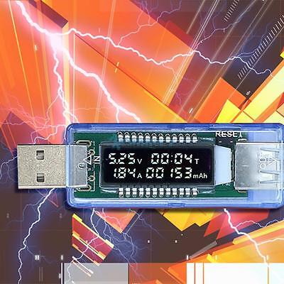 USB Charger Doctor Voltmeter Ammeter Current Voltage Battery Charging Detector
