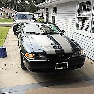 1996 Ford Mustang CONVERTABLE 1996 GT CONVERTABLE 5 SPD.