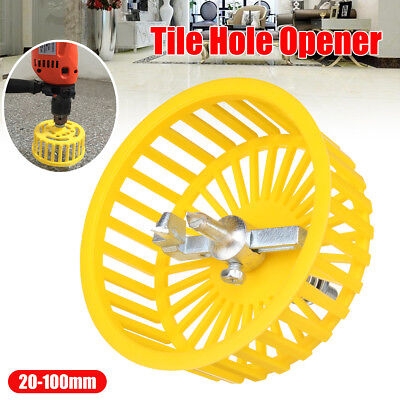 20-100mm Adjustable Carbide Circle Tile Cutter Hole Opener Hole Saw With Cover