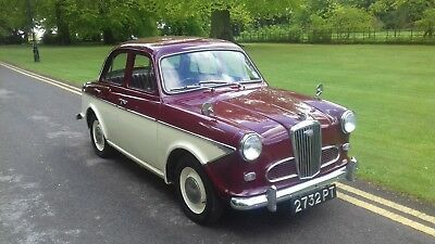 Wolseley 1500 Mk II - 1961 with valuable number plate 2732 PT