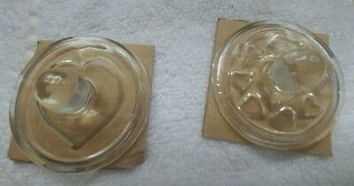 Vintage Williams -Sonoma Glass Cookie Stamps, 4