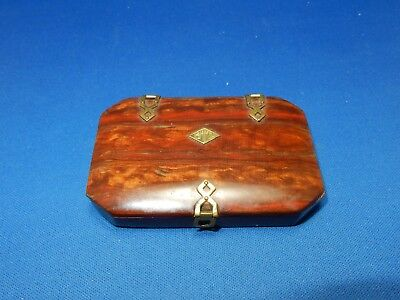 Antique Catalin Bakelite Calling Card Case Theta Tau Omega