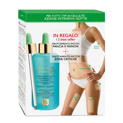 Superconcentrato Snellente Notte  Collistar  200 Ml + 2 Patch Da Provare Offerta