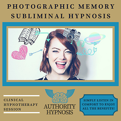 Photographic Memory Hypnosis, Remember Anything, Supercharge Memory, Learn More