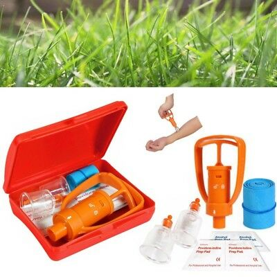 IPRee Venom Extractor Pump First Aid Safety Kit Emergency Snake Bite Survival To