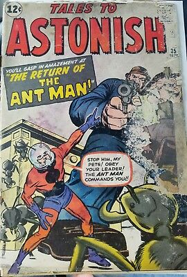Tales to Astonish #35 1st Ant-Man in costume low grade (marvel)