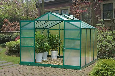 Sunjoy 8 Ft. W x 8 Ft. D Greenhouse