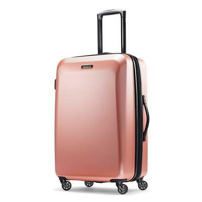 "American Tourister Moonlight 24"" Spinner Luggage Rose Gold 92505-4357"