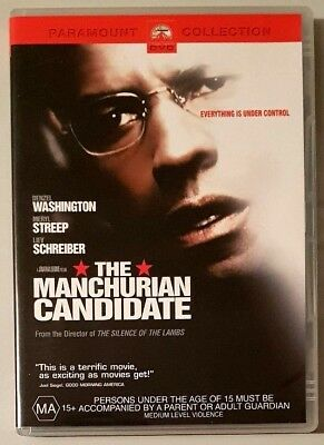 The Manchurian Candidate (Denzel Washington) DVD **LIKE NEW** (Region 4)
