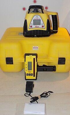 Leica Rugby 280 dual grade laser  Calibrated Free Shipping Worldwide