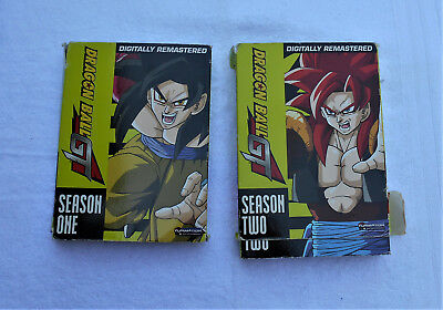 Dragon Ball GT - Complete Series | Season 1 & 2  With Booklets (DVD,ANIME,GOKU)